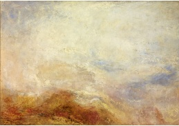 D-6242 Joseph Mallord William Turner - Horská scéna ve Val d Aosta