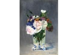 D-7799 Édouard Manet - Květiny v křišťálové váze