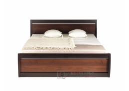 FORREST, postel FR 19 - 180 ořech tmavý / dub miláno