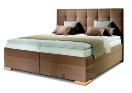 MURANO, čalouněná postel - boxspring 160x200cm