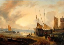 Slavné obrazy IX DDSO-634 Georg Gillis van Haanen - Pohled na přístav