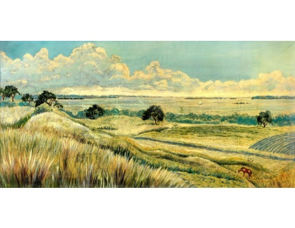 VU190 Douglas Arthur Teed - Panorama krajiny