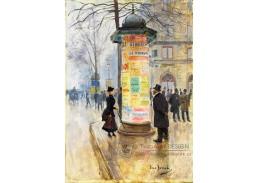 Krásné obrazy II-108 Jean Béraud - Motiv z pařížské ulice