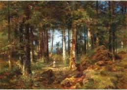 DDSO-4814 Anton Dieffenbach - V lesní krajině