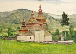 D-5564 Antonín Hudeček - Kostel Tyšová v Zakarpatské Ukrajině