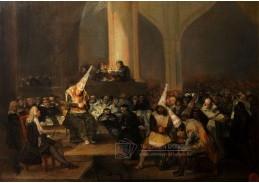 D-6281 Francisco de Goya - Inkviziční scéna