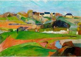 A-104 Paul Gauguin - Krajina v Le Pouldu