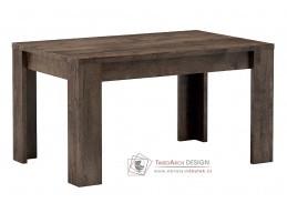 Jídelní stůl rozkládací 160x90 cm INDIANAPOLIS jasan tmavý