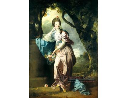 VN-311 Johann Zoffany - Paní Woodhull