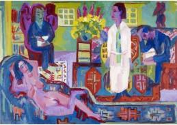 D-7157 Ernst Ludwig Kirchner - Moderní žena