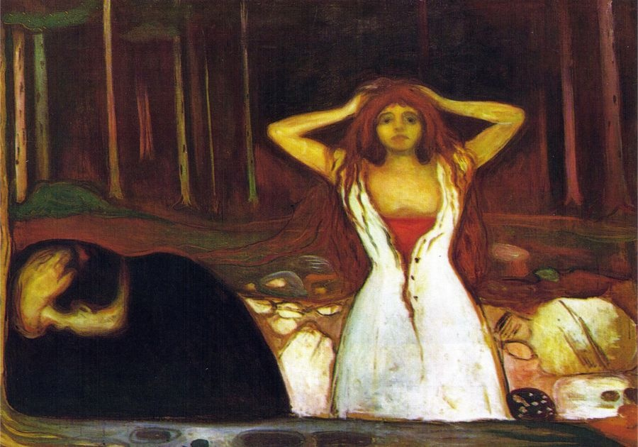VEM13-09 Edvard Munch - Ash