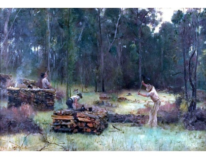 VANG281 Tom Roberts - Dřevorubci