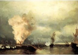 VR48 Ivan Konstantinovič Aivazovsky - Ruské vítězství v bitvě u Vyborgu