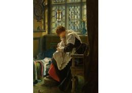 Slavné obrazy XVII-88 Francis John Wyburd - Dětský koutek
