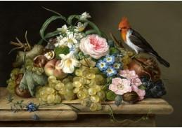 Krásné obrazy VI-104 Neznámý autor - Zátiší s květinami