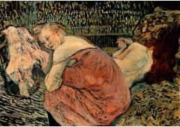 D-6340 Henri de Toulouse-Lautrec - Dvě kamarádky
