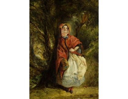 VANG155 William Powell Frith - Portrét Dolly Vardens