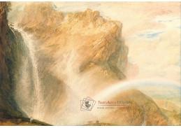 Joseph Mallord William Turner - Duha v horní části Reichenbachu