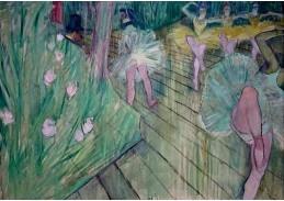 D-6339 Henri de Toulouse-Lautrec - Baletní scéna