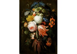 D-7721 Abraham Mignon - Závěsná kytice květin
