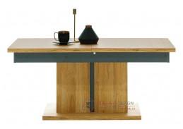 YORK Y14, konferenční stolek rozkládací, dub granson / grafit