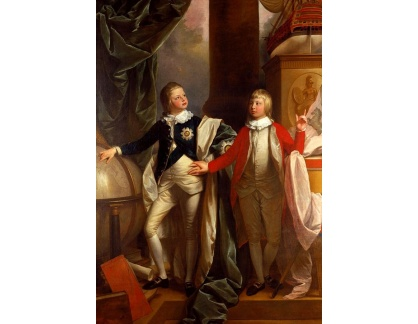 VANG128 Benjamin West - Princ Edward a William IV