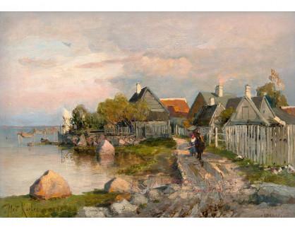 VR-439 Julius Klever - Rybářská vesnice Haapsalu