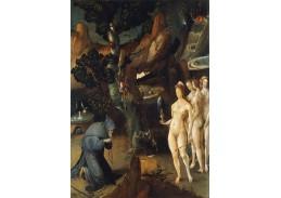 Krásné obrazy II-97 Jan Wellens de Cock - Pokušení svatého Antonína