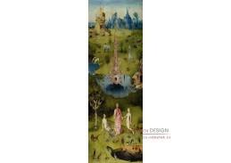 D-6318 Hieronymus Bosch - Zahrada pozemských radostí, pozemský ráj