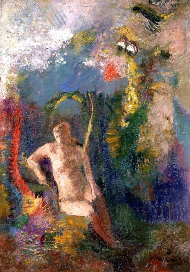 VOR 103 Odilon Redon - Krajina s Evou