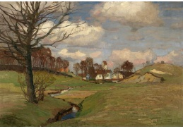 Slavné obrazy VIII-183 Richard Kaiser - Letní krajina