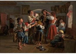 SO XI-472 Ferdinand Georg Waldmüller - Loučení