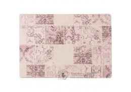 ADRIEL 3, koberec 80x150cm, růžový patchwork
