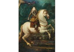 DDSO-3003 Sebastian Herrera Barnuevo - Jezdecký portrét krále Karla II
