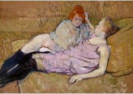 D-6341 Henri de Toulouse-Lautrec - Na pohovce