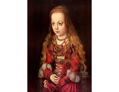 VlCR-47 Lucas Cranach - Portrét saské princezny