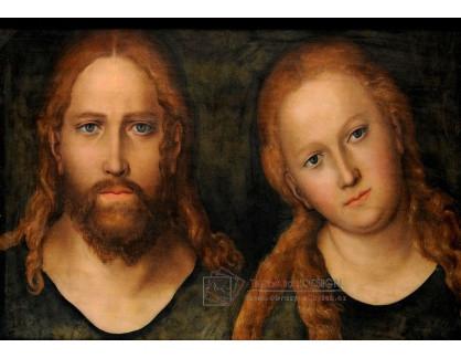 VlCR-191 Lucas Cranach - Kristus a Marie