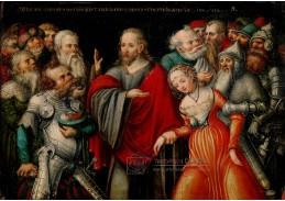 DDSO-2194 Lucas Cranach - Kristus a cizoložnice