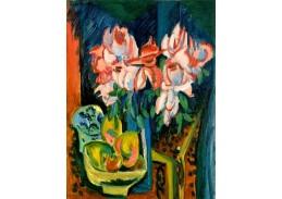 D-8243 Ernst Ludwig Kirchner - Růžové růže