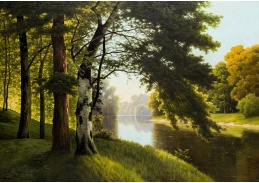 D-9384 Fritz Chwala - Krajina s řekou
