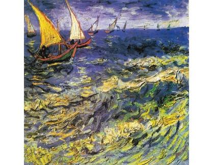 R2-1356 Vincent van Gogh - Rybářské lodě v Saintes-Maries