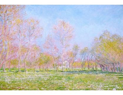 VCM 43 Claude Monet - Jaro v Giverny