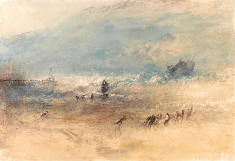 Joseph Mallord William Turner -  Yarmouth Sands