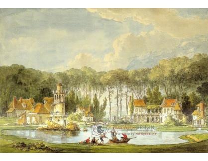 VF131 Claude-Louis Chatelet - Vesnice s rybníkem