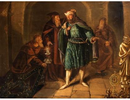 KO III-283 Neznámý  autor - Panovník v klenotnici