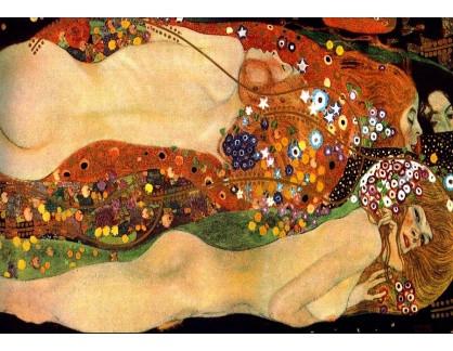 R3-40 Gustav Klimt - Vodní hadi