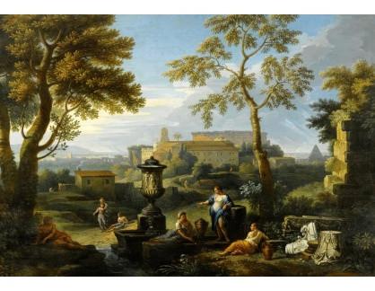 Krásné obrazy IV-51 Jan Frans van Bloemen - Italská krajina