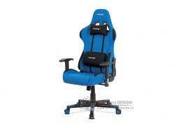 KA-F05 BLUE, kancelářská židle, látka modrá