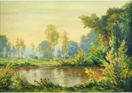 D-5559 Alois Kalvoda - Lesní tůň