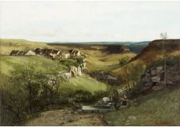 D-7250 Gustave Courbet - Pevnost Ornans